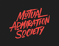 Logo design 'Mutual Admiration Society'