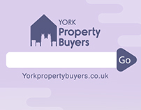 York Property Buyer logo design and website backdrop