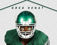 Greg Senat's Journey To The NFL