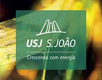 Banner 70 anos Grupo USJ / Usina S. João