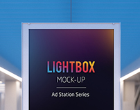 Lightbox Mock-up - Ad Station Series