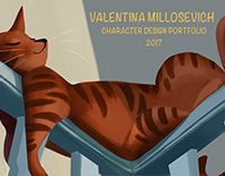 Portfolio Character Design 2017
