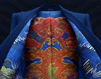 Johnnie Walker Blue Label suit