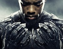 BLACK PANTHER Movie Films Poster