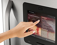 Refrigerator's UI with Touchscreen