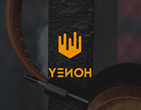 YENOH - Headphones Brand / Logo Design