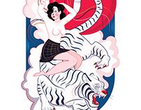 Riding the White Tiger