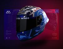 Red Bull - Miguel Oliveira's Helmet
