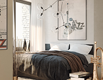 Jazz bedroom