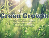 Green Growth Presentation Template