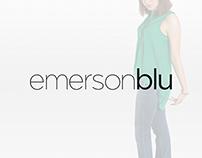 emersonblu Logo Design