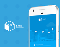 EARY Delivery App - UI and UX design + Branding