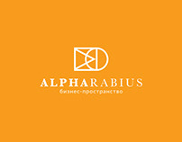 Logotype and branding for Alpharabius