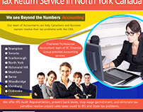 Tax Return Service in North York Canada | 8559107234 |