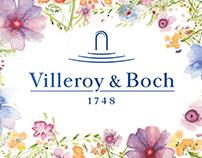 Business Card Villeroy&Boch/Визитка для Villeroy&Boch