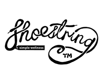 ShoeString —logo for a wellness health start-up