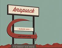 Knapsack Tour 2015 Screenprint