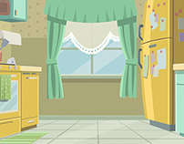 The Awesomes S2 Backgrounds