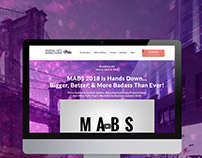 MABS 2018 Homepage Design