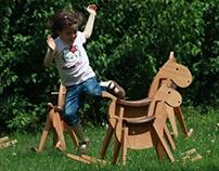 PARIPA rocking horse (mustang)