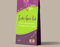 Packaging for Go Indian Spice