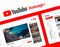 YouTube Redesign !