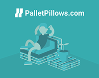 PalletPillow - Brand concept