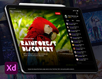 Booking Immersive Experiences on iPad