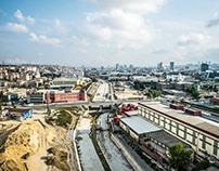iETT Kanal İstanbul Projesi Havadan Fotoğraf Çekimi