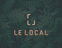 Boutique LE LOCAL | Branding