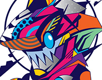TikkySharko Art print 2018