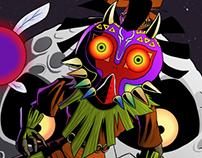 Skull Kid Illustration