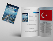 Turkish Geography Textbook Design-Coğrafya 12