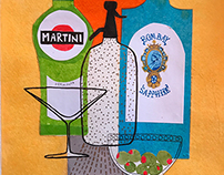 Cocktail Series- Martini