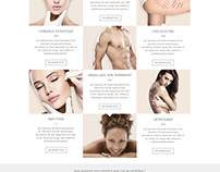 Webdesign - Aesthetic medicine