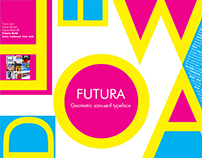 Futura-Typography and Layout