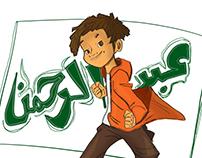 "Character Design ""Abdi Al-Rahman"""