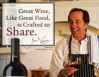 Joseph Carr Wines Share Ad Series