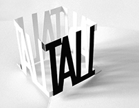 typography • the pop-up book