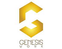 GenesisWork - Logo & Business Card Design (2015)