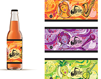Whistle Soda Branding