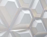 Pentagon - room divider system