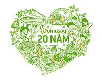 Celebrating 20 years of Vinasoy Infographic