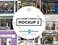 Shop front mockup 2
