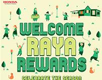 Honda Raya 2018 Poster