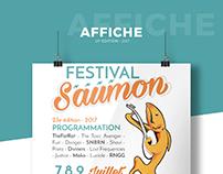"Communication, ""Festival Saumon"" 23rd edition"