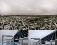 Free 2k HDR 360 map Winter Noon Sky