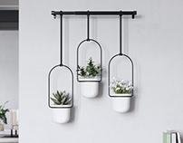 Umbra Triflora Planter