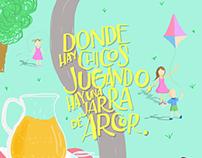 Ilustraciones para Arcor