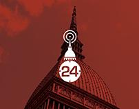 Piemontenews24 // Logo Design